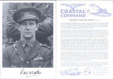 UC5 WWII RAF photo hand  signed WALTON MC AFC WW2 U-boat sinker