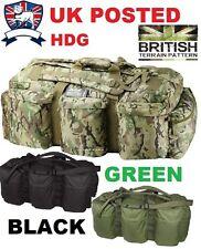 KOMBAT ARMY HOLDALL DEPLOYMENT BAG RUCKSACK ASSAULT 100L MTP BTP MULTICAMO OG B