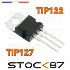 transistor darlington NPN  TIP122 ou PNP TIP127 - TO220 - ST original