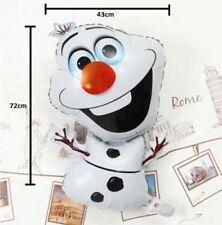 Disney Frozen Muñeco de nieve Olaf Fiesta PERSONAJE metalizado con Forma Navidad