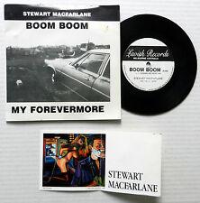 "STEWART MACFARLANE 7"" Boom Boom / My Forevermore LAVISH Picture Sleeve AUSTRALIA"