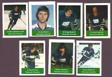 1974-75 Acme Loblaws Hockey Gregg Boddy Vancouver Canucks