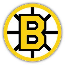 Boston Bruins NHL Logo B Car Bumper Sticker Decal  - 3'' or 5''