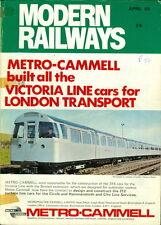 1969 Modern Railways Magazine: April Issue #247 - Metro-Cammell Victoria Line