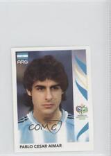 2006 Panini World Cup Album Stickers 177 Pablo Cesar Aimar Argentina Soccer Card