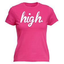 Alta para mujer T-Shirt Clothing Diseñador Hipster Festival Divertido Regalo De Cumpleaños