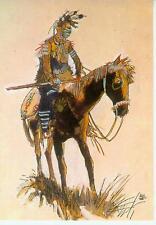 Hugo Pratt Postcard: Indien Pawnee (France, 1984)