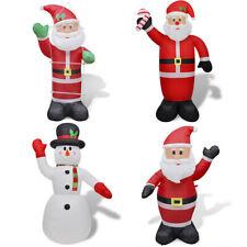 vidaXL Adorno Inflable de Navidad Papa Noel/Muñeco de Navidad Diversos Tamaños