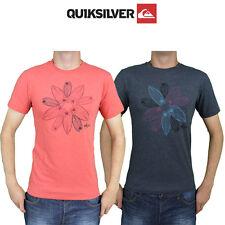 Mens Quiksilver Tees T-Shirt Summer Cotton Short Sleeve Top Australian Surf Q1