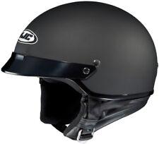 HJC CS-2N Open Face Motorcycle Scooter Half Helmet Flat Black HH