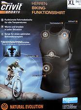 Herren Biking Funktionsshirt Radshirt Funktionswäsche Rad Unterwäsche M L XL NEU