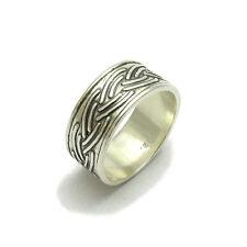 Sterlingsilber Ring massiv 925 Ehering r000481