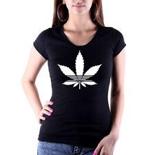 femmes T - Chemise Cannabis Legal CHANVRE Lady-Fit NEUF