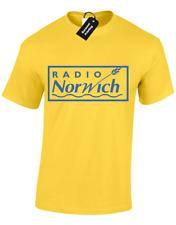 Camiseta para hombre radio Norwich Gracioso Alan Partridge comedia Norfolk TV show dan Regalo