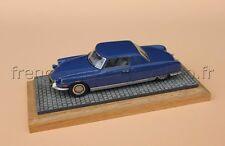 C447 Rare voiture Citroën DS Chapron Le Dandy N°111 Heco miniatures bleu 1/43