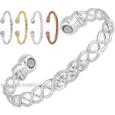 DONNE Rame Magnetico braccialetto GUARIGIONE Elegante braccialetto