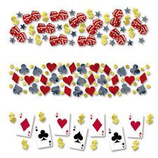Partykonfetti Casino, Konfetti Place Your Bets 34 g, Papierkonfetti Dekokonfetti