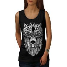 Wolf Scary Animal Women Tank Top NEW | Wellcoda