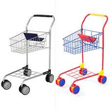 Einkaufswagen für Kinder mit Sitz für die Puppe von Bayer