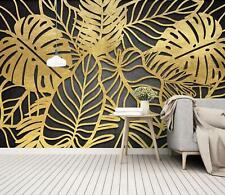 3D Gold Leaf Texture 52 Wall Paper Exclusive MXY Wallpaper Mural Decal Indoor AJ