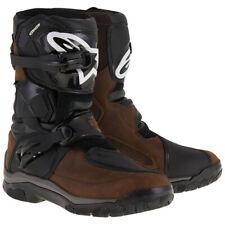 Alpinestars Belize Drystar Waterproof Motorcycle Motorbike Boots - Brown/Black