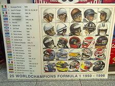 25 World Champions Formula 1 1950 - 1996 door Eric-Jan Kremer