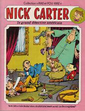 BONVI. Nick Carter le grand détective américain. 1976