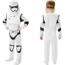 Kids Boys Storm Trooper Costume Star Wars Fancy Dress