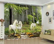 Three Leisurely Unicorn 3D Full Wall Mural Photo Wallpaper Printing Home Kids