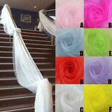 500CM*48CM Wedding Backdrop Gauze Curtain Organza Wedding Party Venus Decor 2018