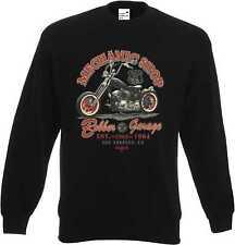 Sweatshirt in schwarz HD Biker-,Chopper-&Old Schoolmotiv Modell Mechanic Shop
