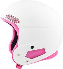 Shred Skihelm Snowboardhelm weiß Brain Bucket ice. Sticker Comfort Kit