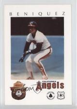 1984 Smokey Bear California Angels #JUBE Juan Beniquez Los Angeles Baseball Card