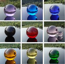 Hot 20mm - 60mm Quartz Crystal Glass Ball Feng shui Magic Healing Crystals Balls