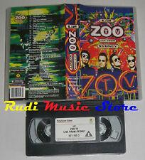 VHS U2 Zoo tv live from sydney 1994 UK ISLAND 631 150-3 118 MIN no cd lp (VM6)*