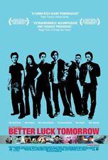 BETTER LUCK TOMORROW - Original Movie Poster One Sheet
