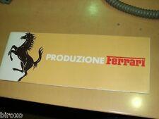 FERRARI BROCHURE PRODUZ. FERRARI 1977 308 400 BB512 GT4