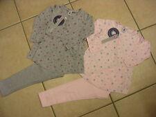 Schlafanzug , Soft-Baumwolle, grau oder rosa  von Petit Bateau.  BRANDNEU!!!