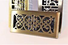 Decor-Grates-Floor-Register-Air-Vent-Scroll - Antique 4x10, 4x12, 4x14, 2x12.