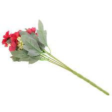 Bouquet Chrysanthème Artificielles En Soie En Plastique Fleur pour