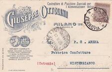 * MILANO - Pubblicitaria Macchine per dolci Ottolini 1925