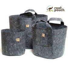 Root Pouch Grey Fabric Rhizo Hydroponic Pot 3.8L 8L 12L 16L 22L 30L 39L 56L 78L