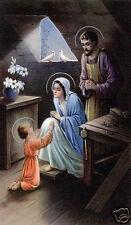 SANTINO HOLY CARD SACRA FAMIGLIA N 2