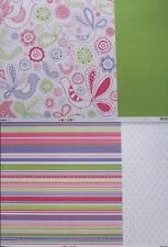 """12""""X12"""" Scrapbook Paper La Di Da Collection Double Sided 2 designs to choose"""