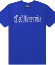 Blue Bandana California Old English T Shirt Gangster Crip Rag 13 South Side Tee