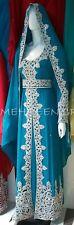 Dubai Moroccan Kaftan Georgette Dress Jilbab Arabian clothing Hot ISLAMIC 4848