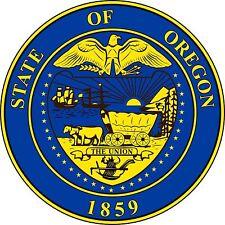 PREMIUM Aufkleber Wappen von Oregon USA Auto Motorrad car Sticker Autoaufkleber