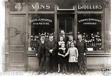 Amiens Boutique Vins  Bordeaux Bourgogne Champagne repro tirage photo ancienne