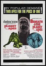 Planet Of The Apes Movie Poster Rare Charlton Heston