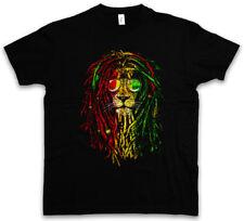 RASTAFARI LION I T-SHIRT Bob Reggae Music Marley Jamaica Wailers Haile Selassie